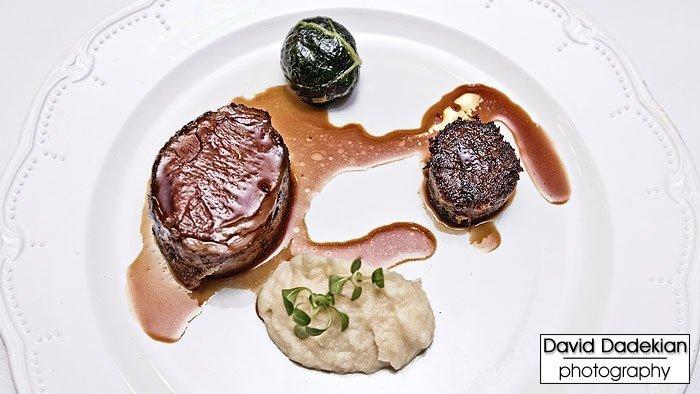 Chef Champe Speidel's Slow Roasted Lamb Saddle and Braised Lamb Rillette