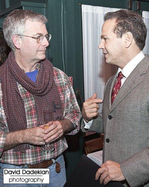 Chef Tillinghast with Providence Mayor David Cicilline