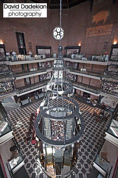 Atrium of The Liberty Hotel