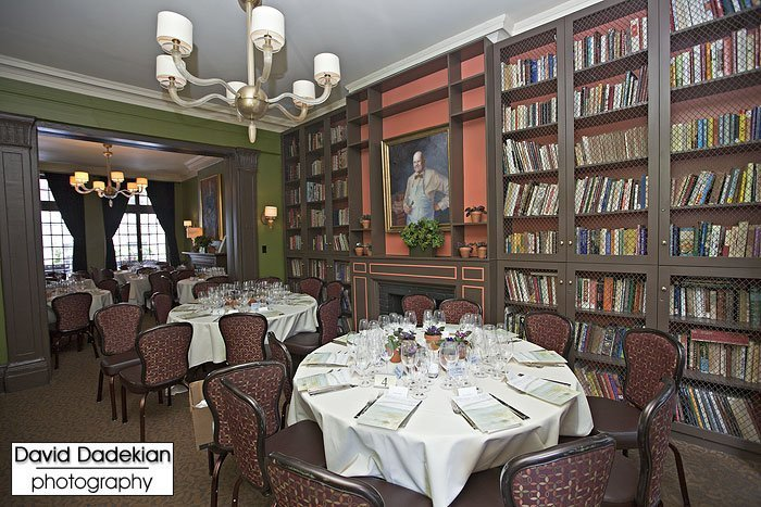Dining room of the James Beard House