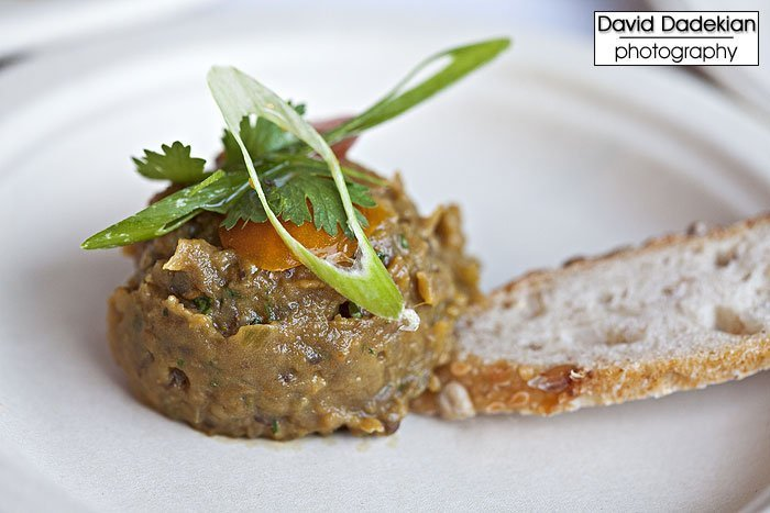Local 121's Arcadian Fields' Bharta Smoked Eggplant with Fresh Spices & Cilantro