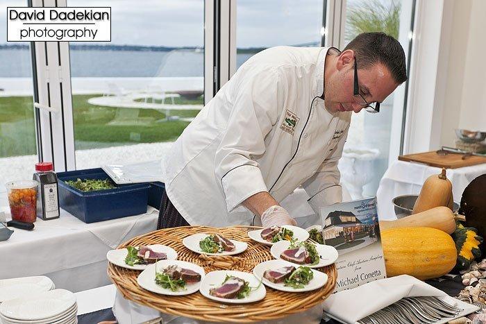 Trio's Chef Michael Conetta