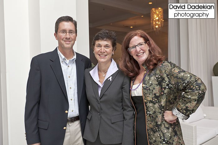 March of Dimes's Betsy Akin with Doctor Phipps and her husband