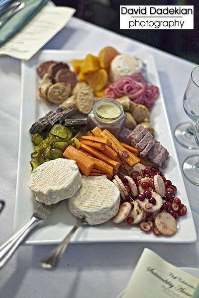 Chef Matt Jennings' truly extraordinary charcuterie platter