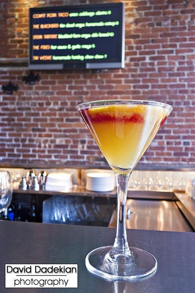 Tini's Satan's Little Helper cocktail 3