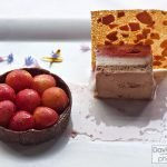 One of Chef Denmark's desserts: Gracie's Chocolate Cherry Tart