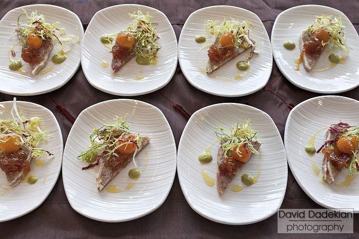 Pork terrine from Gracie's Chef Matthew Varga