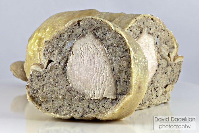 Galantine (thick slice for photo purposes only)