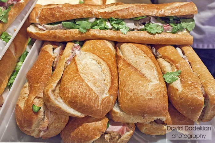 Chef Jamie Bissonnette's Bánh Mì of Coppa, Kidney Spread, Head Cheese and Ham