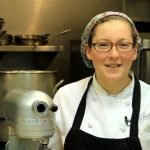 Gracie's Pastry Chef Melissa Denmark's Apple Buttermilk Tart video from the Providence Warwick Convention & Visitors Bureau