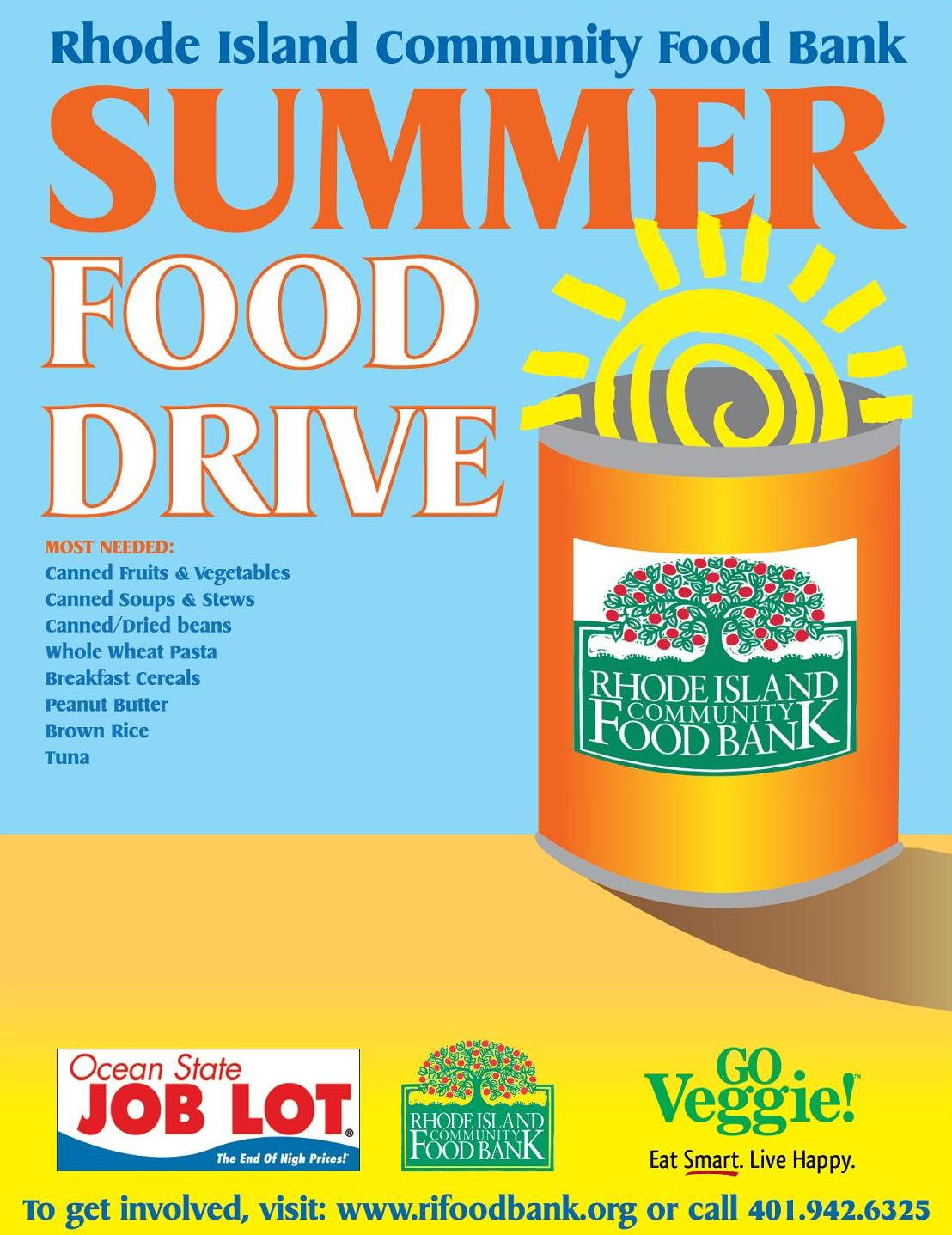 Rhode Island Community Food Bank 2013 Summer Food Drive